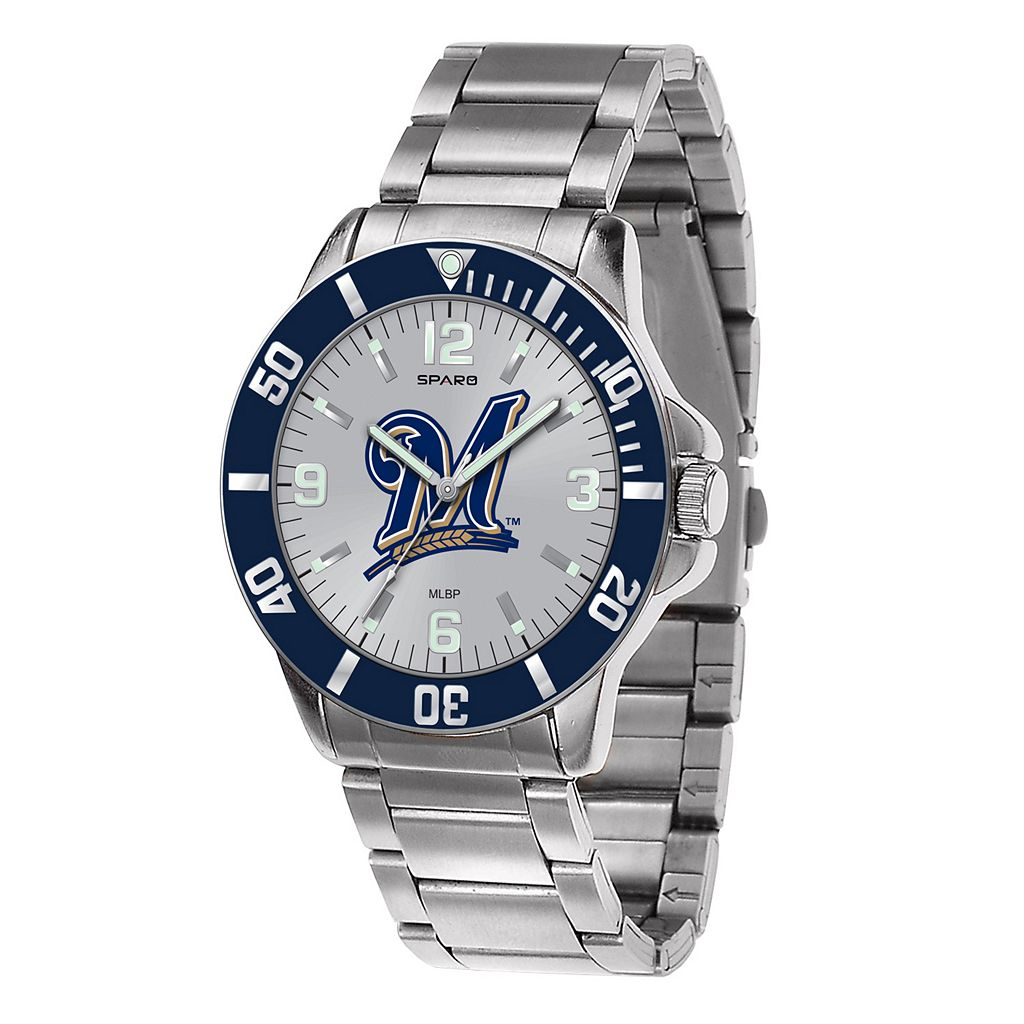 Men's Sparo Milwaukee Brewers Key Watch