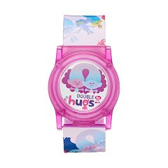 DreamWorks Trolls 'Double The Hugs' Kids' Flip-Up Digital Light-Up Watch