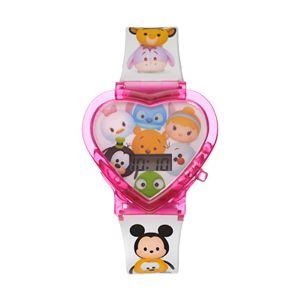 Disney's Tsum Tsum Kids' Heart-Shaped Digital Light-Up Watch