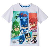 Boys 4-7 PJ Masks Gekko, Catboy, Owlette & Villains Graphic Tee
