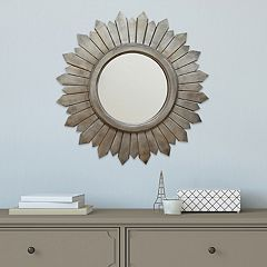 Stratton Home Decor Madilyn Burst Wall Mirror
