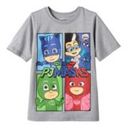 Toddler Boy PJ Masks Gekko, Catboy & Owlette Tee