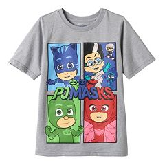 Toddler Boy PJ Masks Gekko, Catboy & Owlette Tee