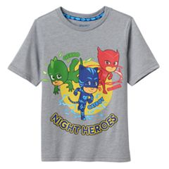 Toddler Boy PJ Masks 'Night Heroes' Owlette, Gekko & Catboy Graphic Tee
