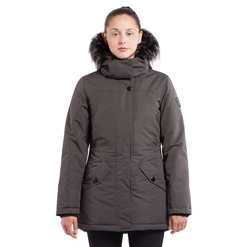 Women's Noize Hooded Mid-Length Jacket