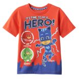 Toddler Boy PJ Masks Gekko, Catboy & Owlette Graphic Hero Tee