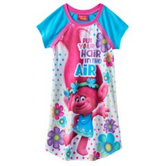 Girls 4-12 DreamWorks Trolls Poppy 'Put Your Hair In The Air' Nightgown