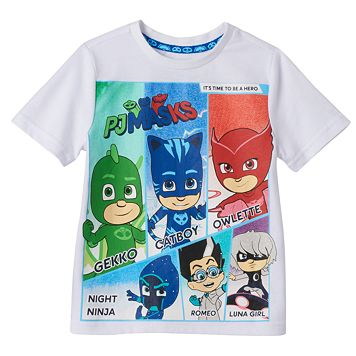Toddler Boy PJ Masks Catboy, Gekko & Owlette Heroes & Villains Graphic Tee