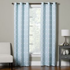 The Big One® Decorative 2-pack Trellis Window Curtain