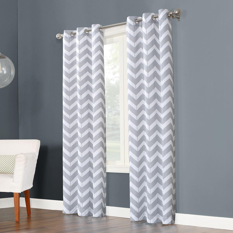 Superbe The Big One® 2 Pack Geometric Decorative Window Curtains