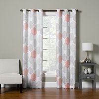 The Big One® Decorative 2-pack Dahlia Dot Window Curtain