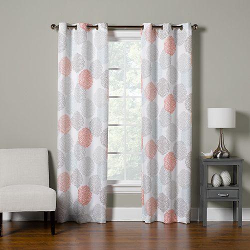 The Big One® Decorative 2-pack Dahlia Dot Window Curtain