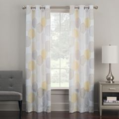 yellow and gray curtains Yellow Curtains & Drapes   Window Treatments, Home Decor | Kohl's yellow and gray curtains