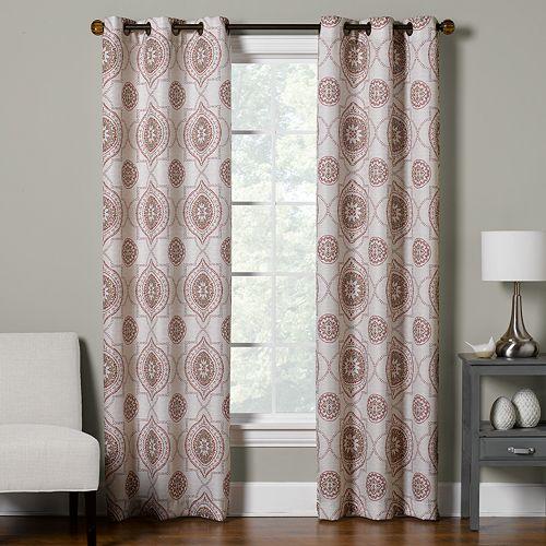 The Big One® Decorative 2-pack Atlantis Window Curtain