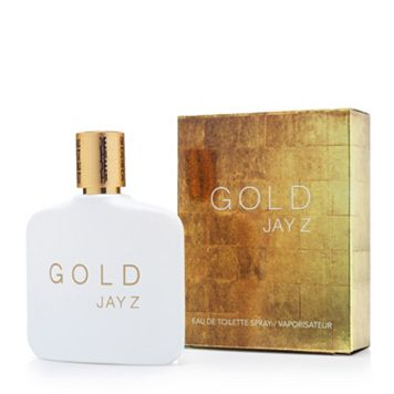 Jay Z Gold Men's Cologne - Eau de Toilette
