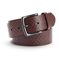 Men's Urban Pipeline® Tribal Embossed Belt