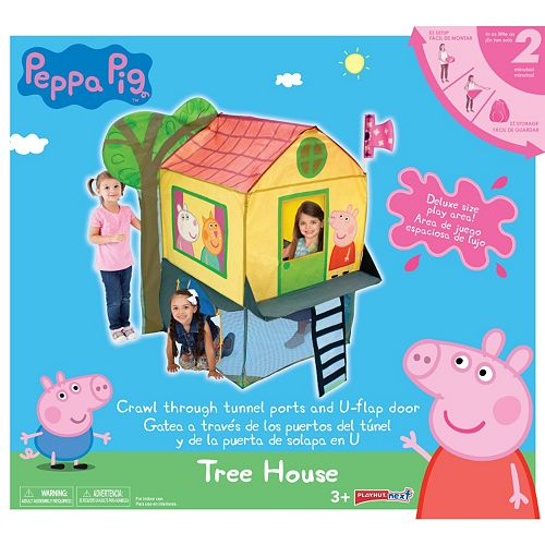on sale d8698 f9a8f Peppa Pig Tree House Play Tent by Playhut
