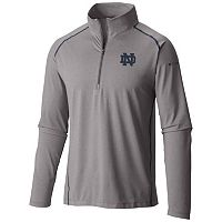 Men's Columbia Notre Dame Fighting Irish Tuk Mountain Performance Pullover