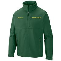 Men's Columbia Oregon Ducks Ascender Softshell Jacket