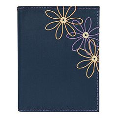 Travelon Safe ID Daisy RFID-Blocking Passport Case