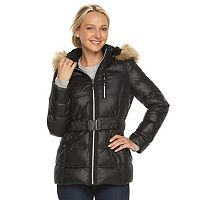 Women's Halitech Faux-Fur Trim Hooded Puffer Jacket