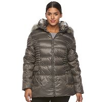 Plus Size Halitech Hooded Puffer Jacket