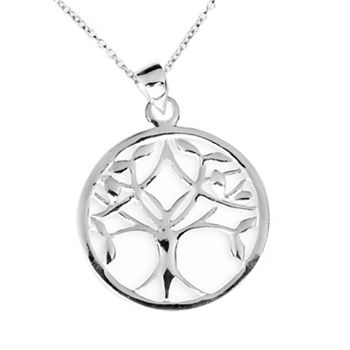 Sterling silver tree of life pendant necklace mozeypictures Gallery