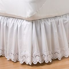 Home Classics® Eyelet Bedskirt - Twin
