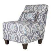 HomePop Accent Chair & Throw Pillow 2-piece Set