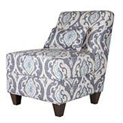 HomePop Accent Chair & Throw Pillow 2 pc Set