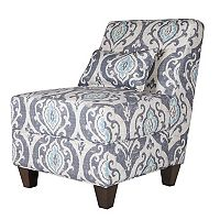 HomePop Accent Chair & Throw Pillow 2 pc Set