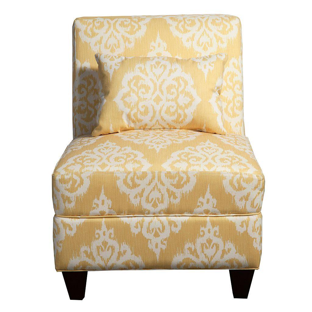 HomePop Accent Chair & Throw Pillow 2-piece Set