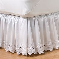 Home Classics® Eyelet Bedskirt - Cal. King