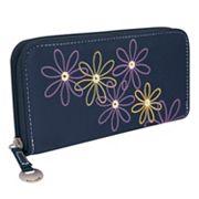Travelon Safe ID Daisy RFID-Blocking Clutch Wallet
