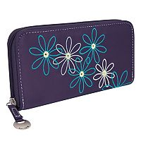 Travelon Safe ID Daisy RFID-Blocking Clutch Wallet