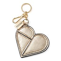 REED Patchwork Heart Key Chain