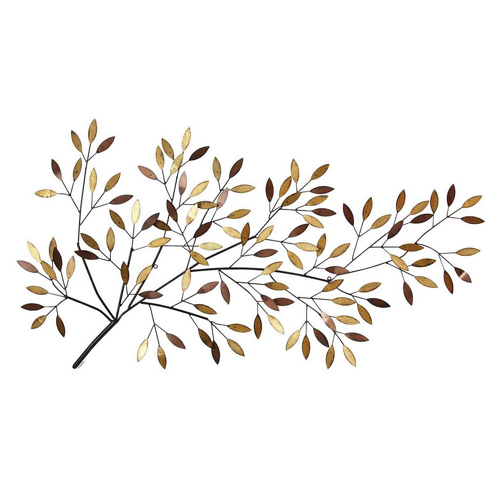 Stratton Home Decor Blooming Tree Branch Metal Wall Decor