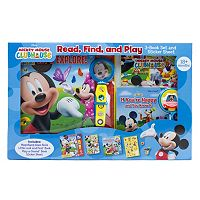 Disney's Mickey Mouse Clubhouse Read, Find & Play 3-Book Set