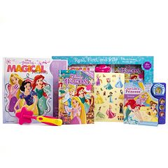 Disney Princess Read, Find & Play 3-Book Set