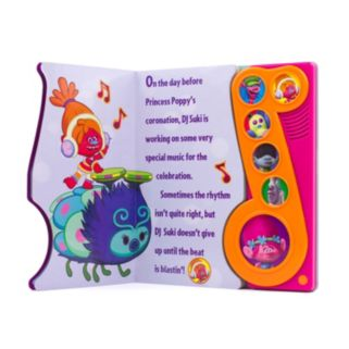 """DreamWorks Trolls """"Get Back Up Again"""" Play-a-Song Book"""
