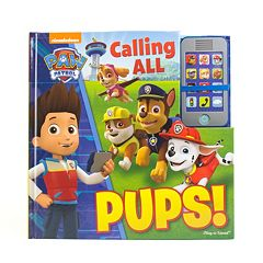 Paw Patrol Calling All Pups Book