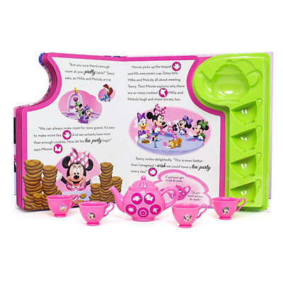 Disney's Minnie Mouse Best Friends Tea Party Book Set