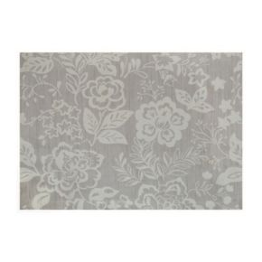 Food Network? Neutral Floral Placemat