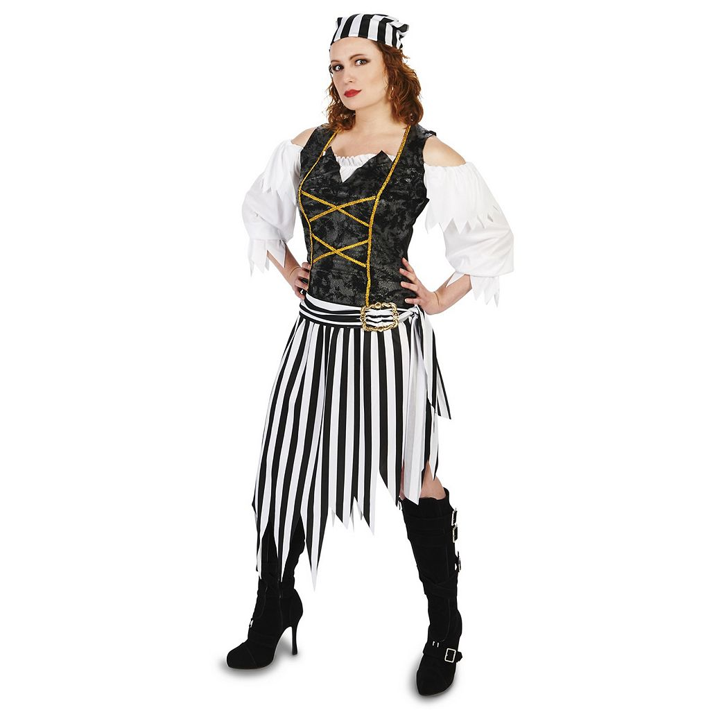 Adult Pretty Pirate Princess Costume