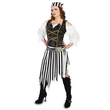 Adult Pretty Pirate Princess Costume