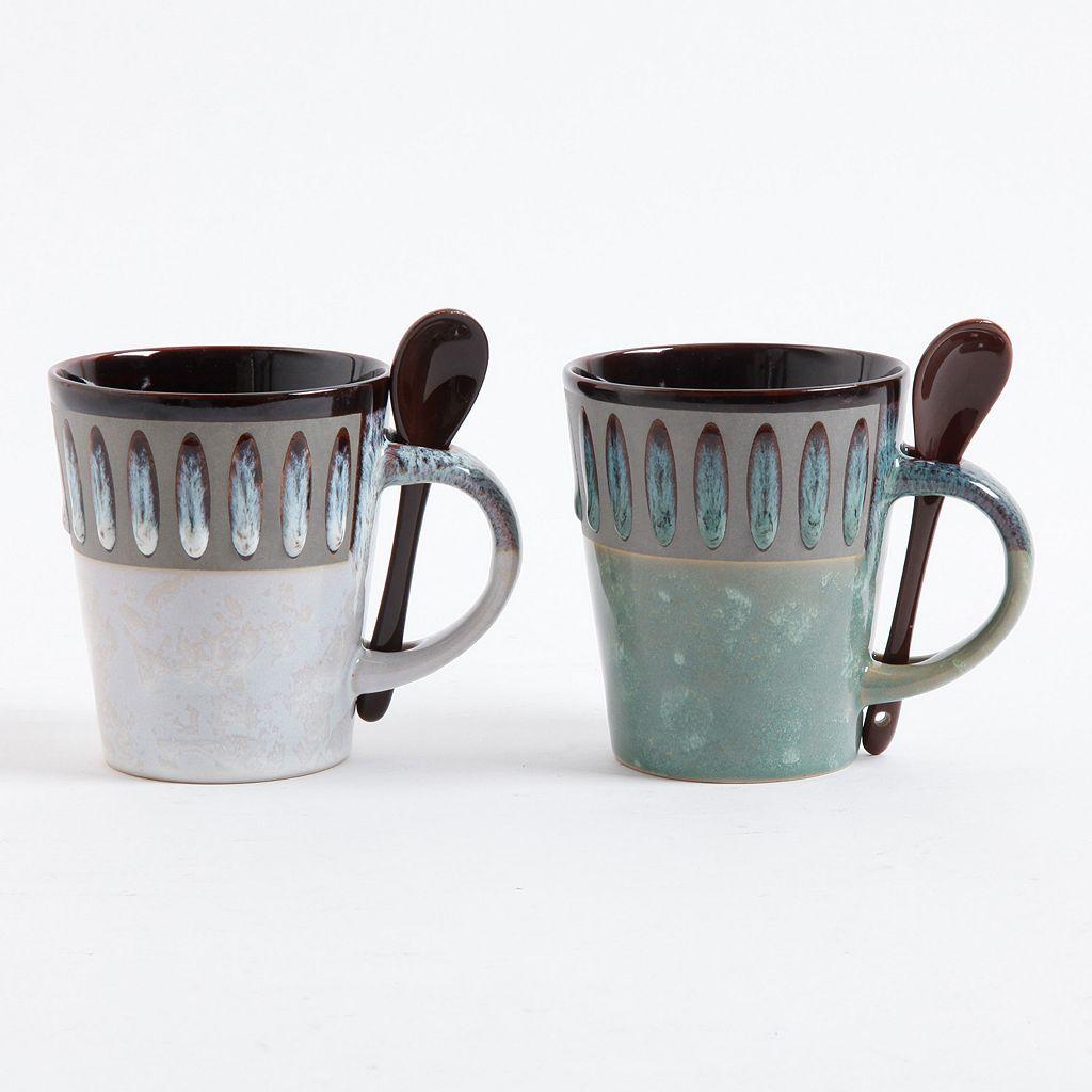 Mr. Coffee Delmar 8-pc. Coffee Mug & Spoon Set