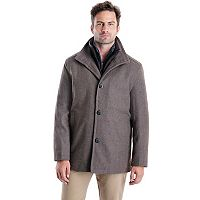 Big & Tall Towne Wool-Blend Car Coat
