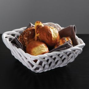 Gibson Elite Gracious Dining 9-in. Square Bread Basket