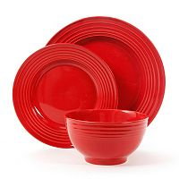 Gibson Home Plaza Cafe 12-pc. Dinnerware Set