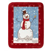 Hi Pile Luxury Oversize Snowman Throw